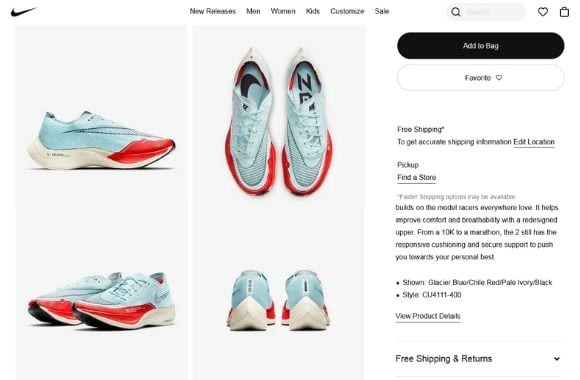 shoe clipping path work